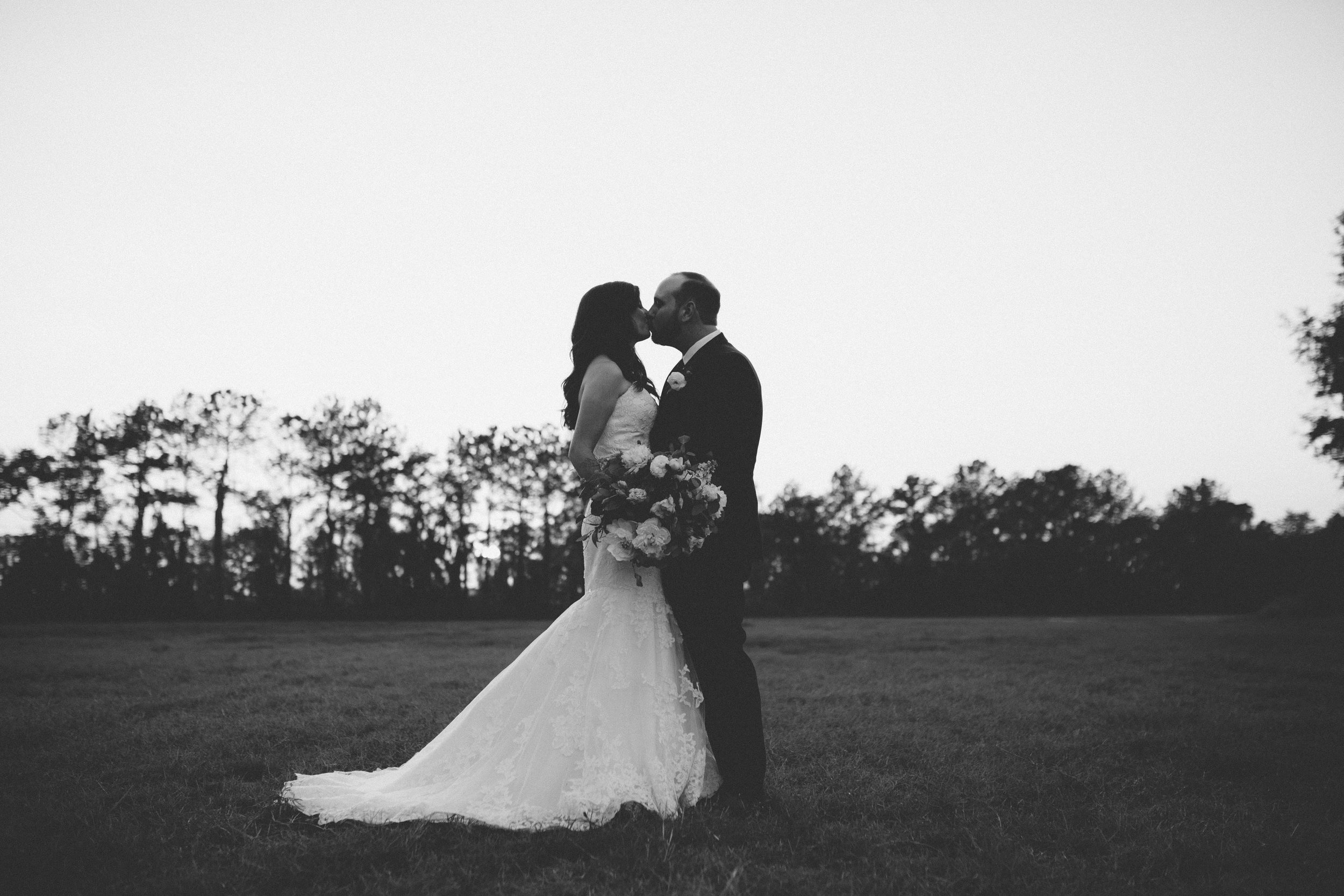 Bride Groom Portraits   Florida Rustic Barn Weddings   Plant City, Florida Wedding Photography   Benjamin Hewitt Photographer