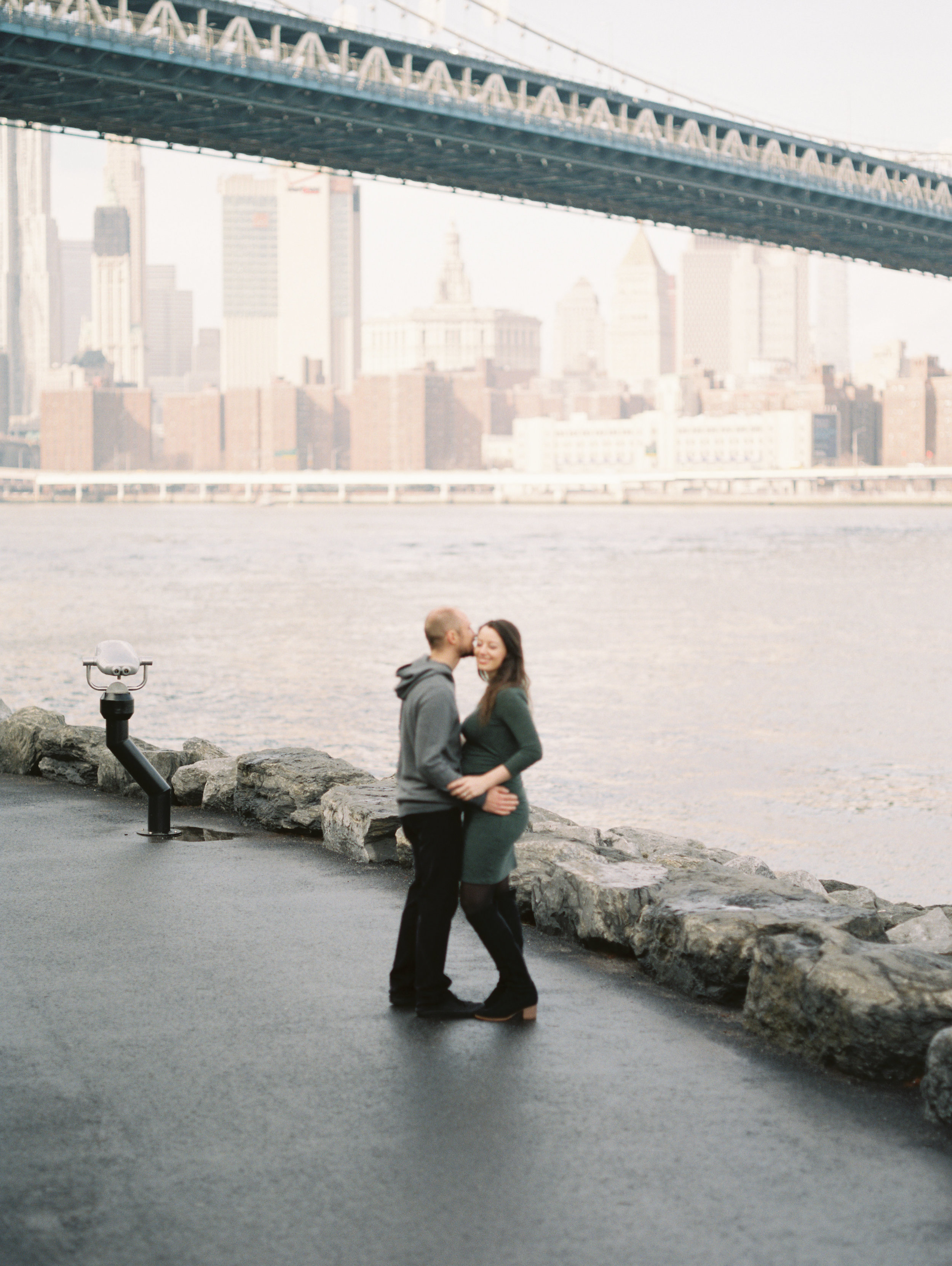 New York City Portraits | Film Wedding Photographer | Maternity Session | Benjamin Hewitt Photography
