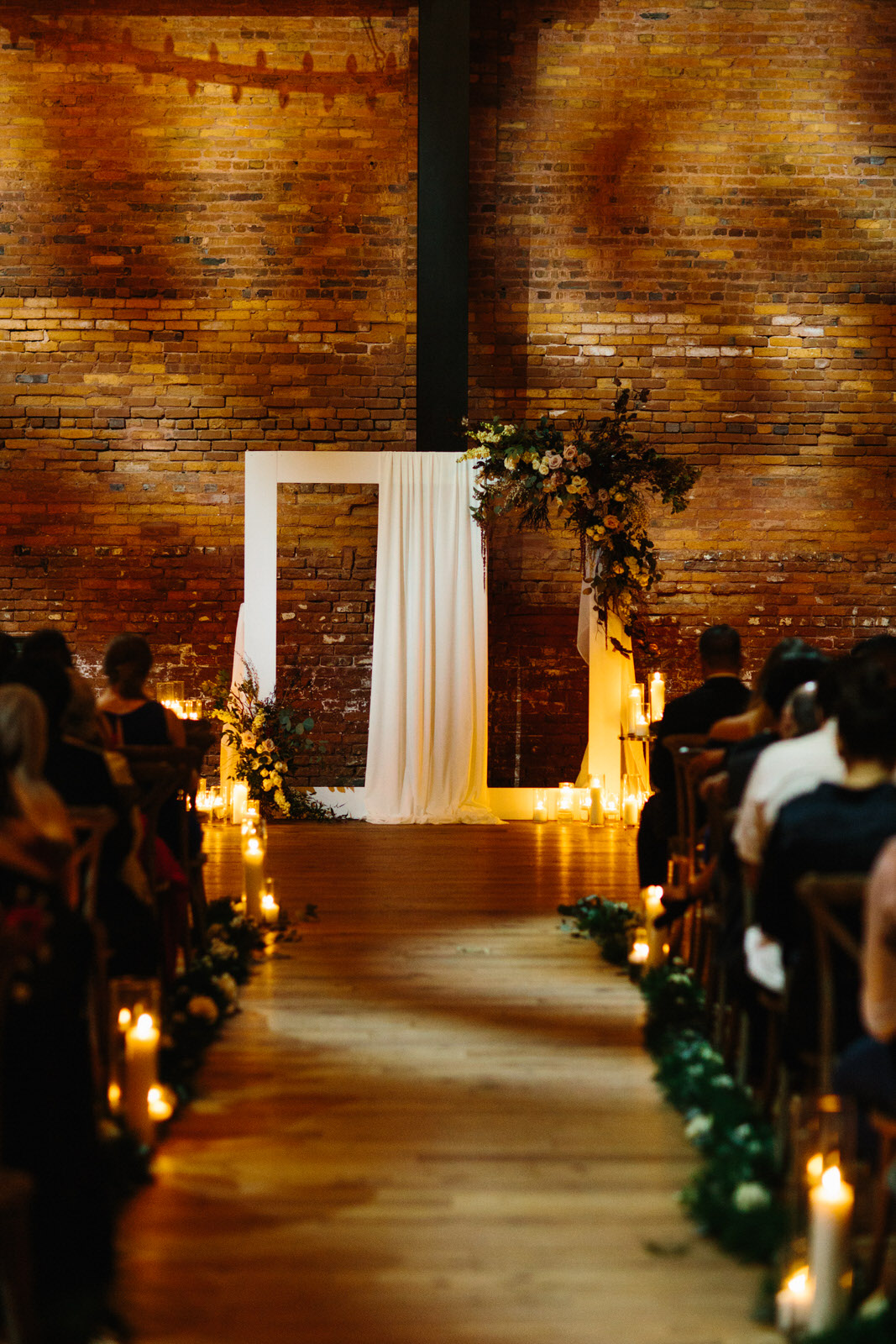 Armature Works Wedding Ceremony