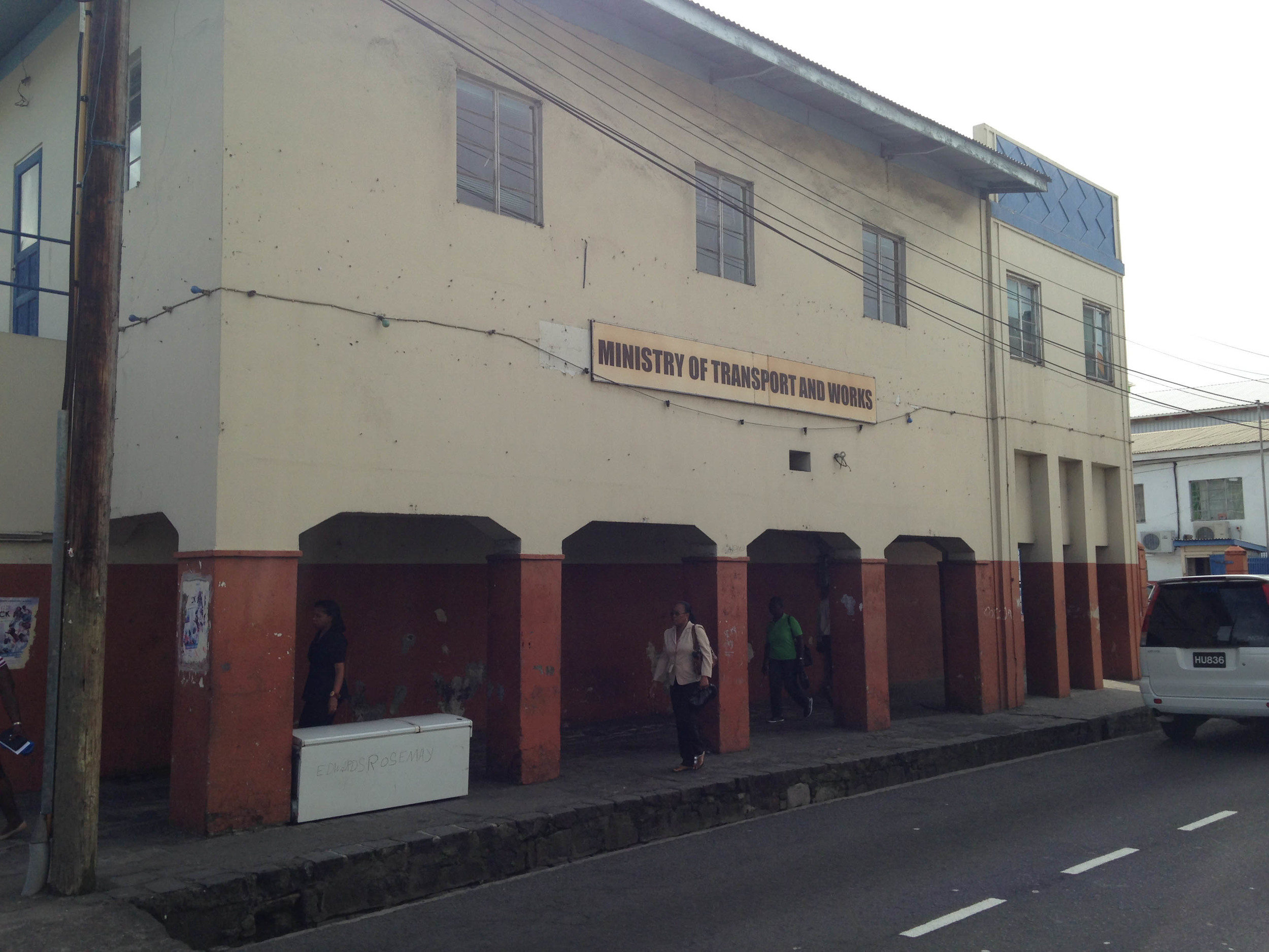 Ministry of Transport and Works Building, Kingstown, St. Vincent