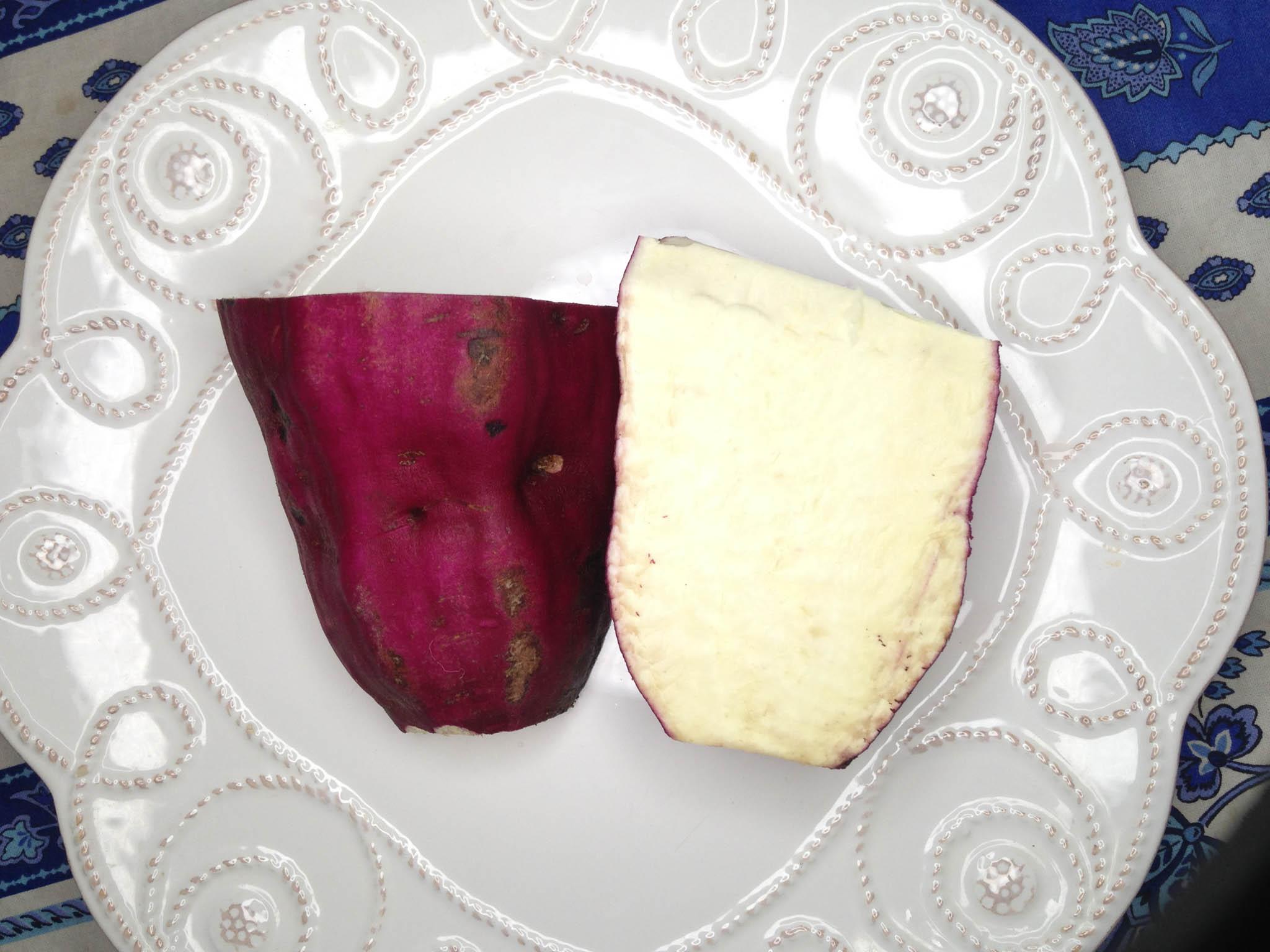 Cut Sweet Potato