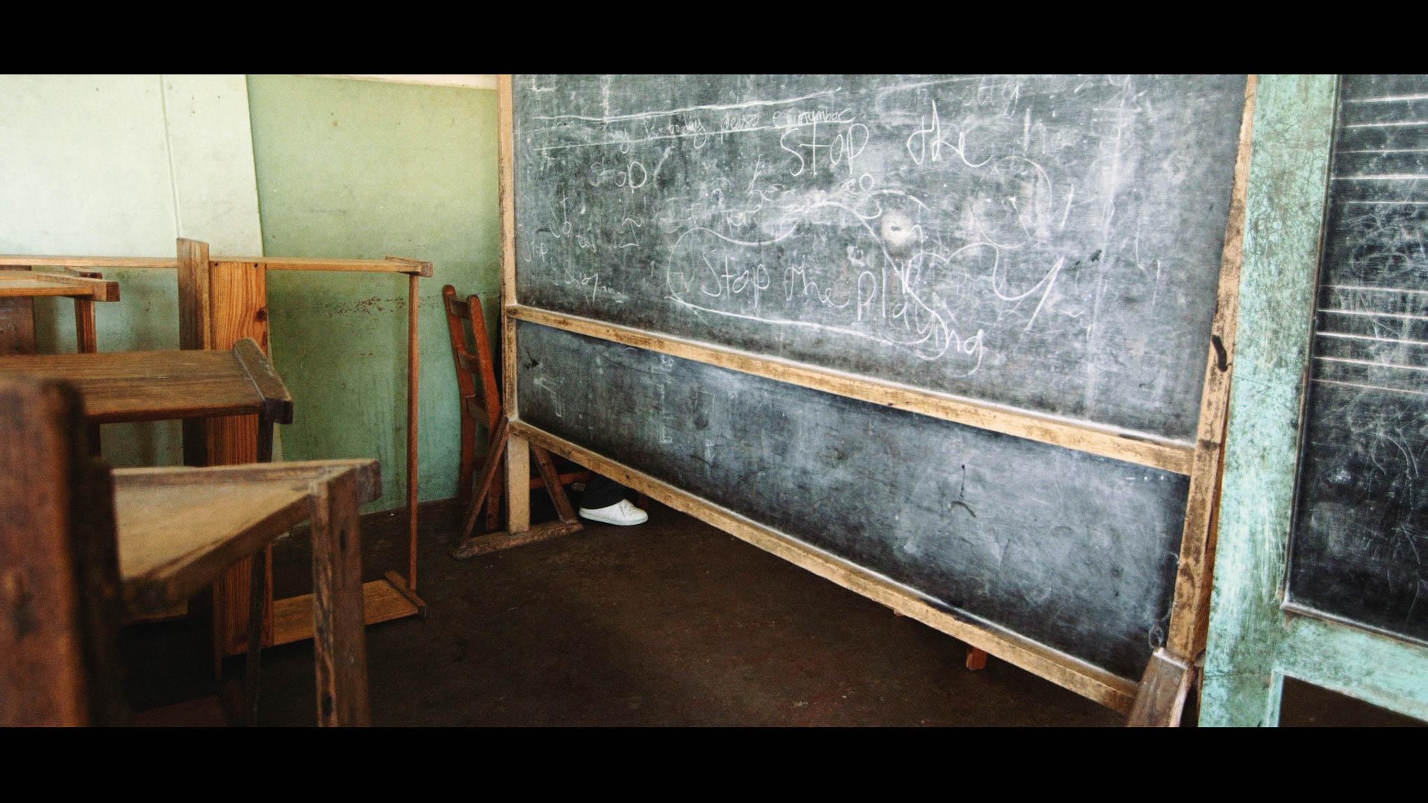 Chalk boards, Park Hill School - Video Still