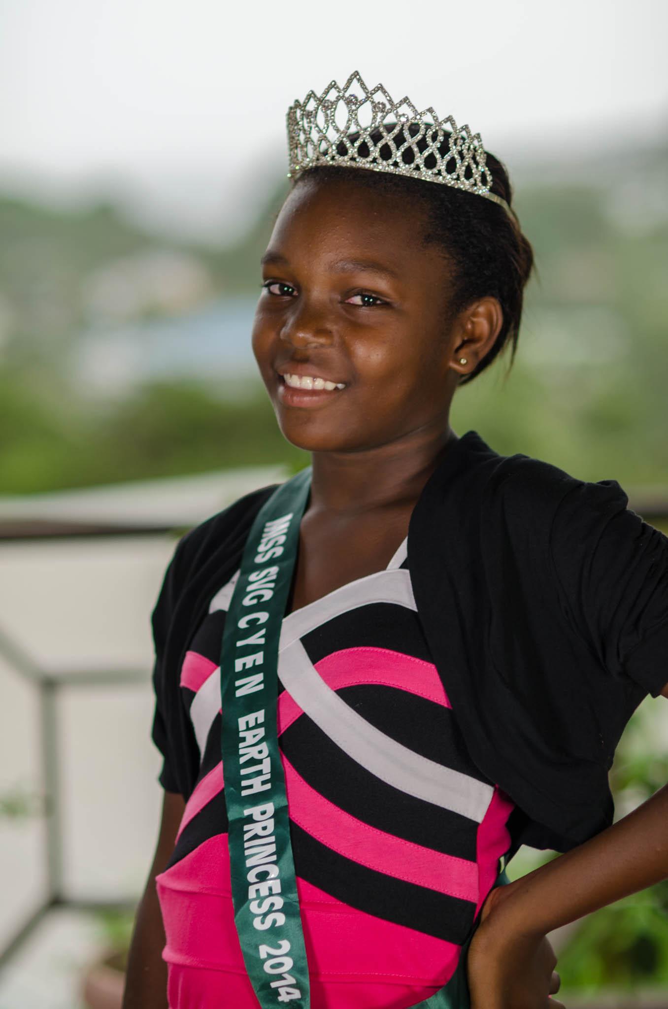 Princess Oricia, Miss SVG CYEN Earth Princess 2014