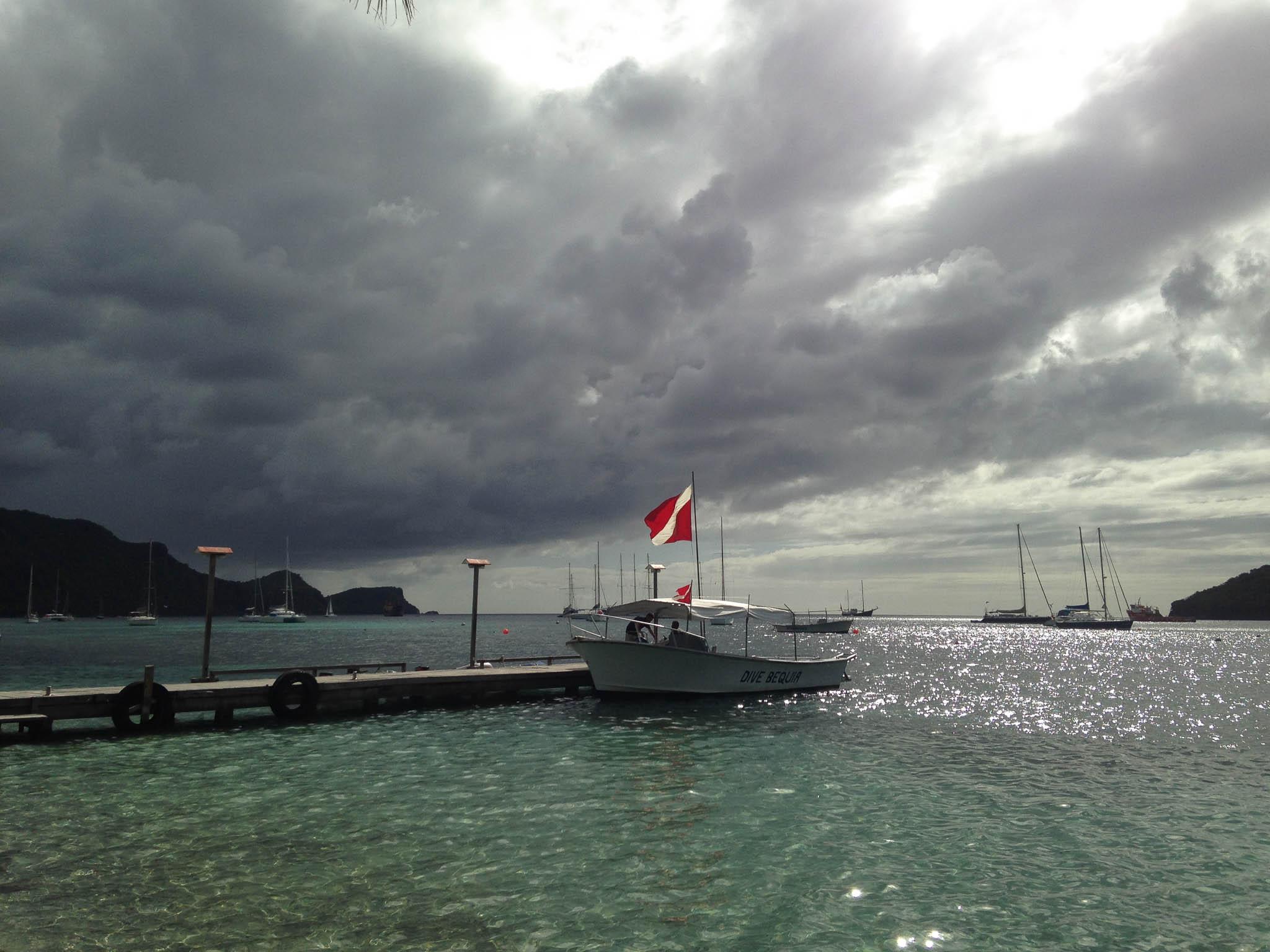 Dive Boat, Bequia