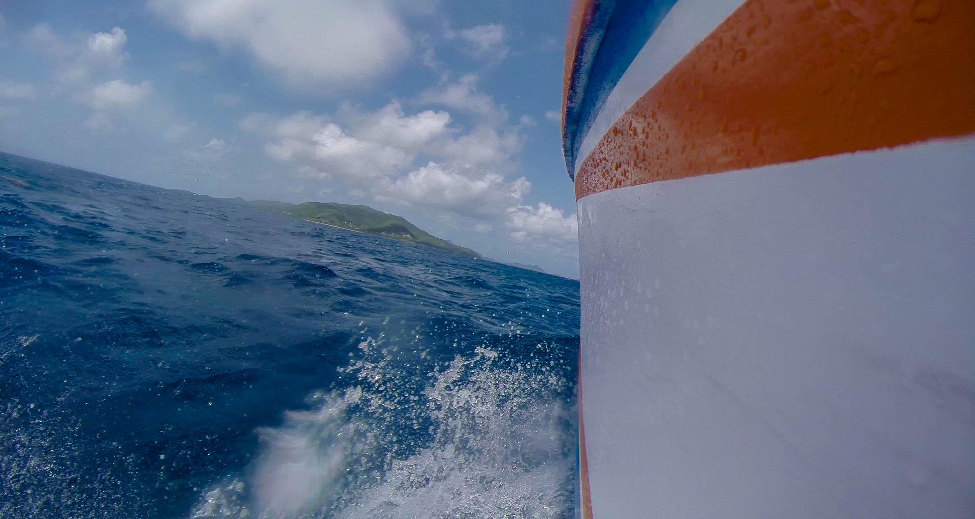 Speeding toward Carriacou- Video Still, Tom Miller