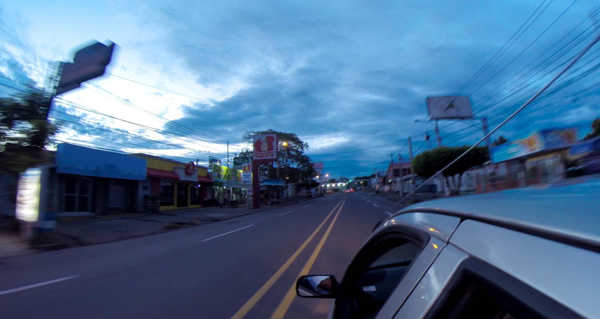Arrival in Managuai - vdeo still, Tom Miller