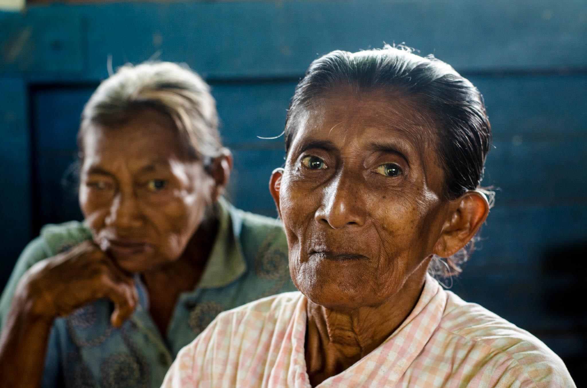 Alisia, a Rama elder, Bangkukuk - photo, Tom Miller