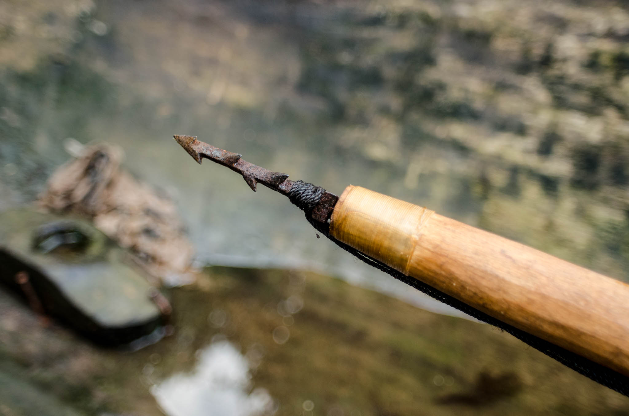 Traditional harpoon - photo, Tom Miller