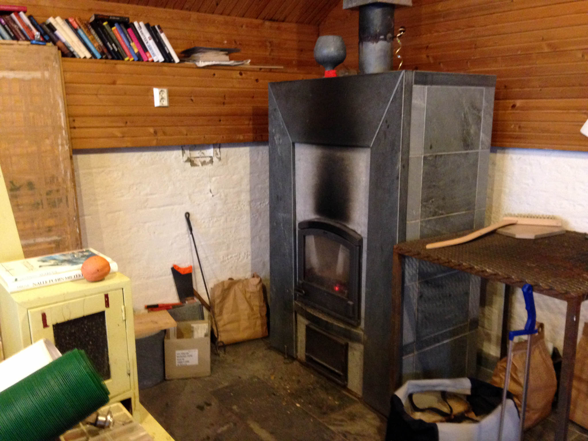 Our Giant Finnish Stone Furnace
