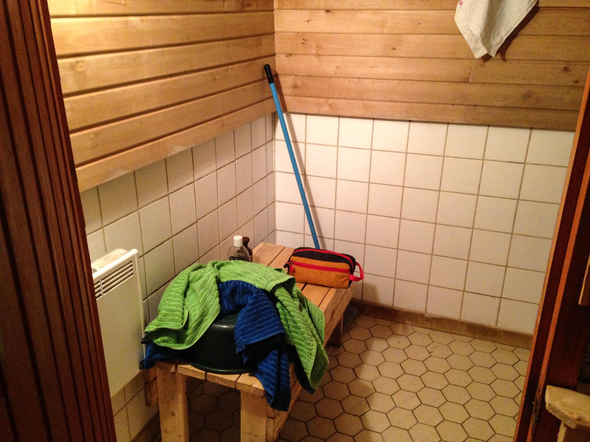 Sauna (in the main house)