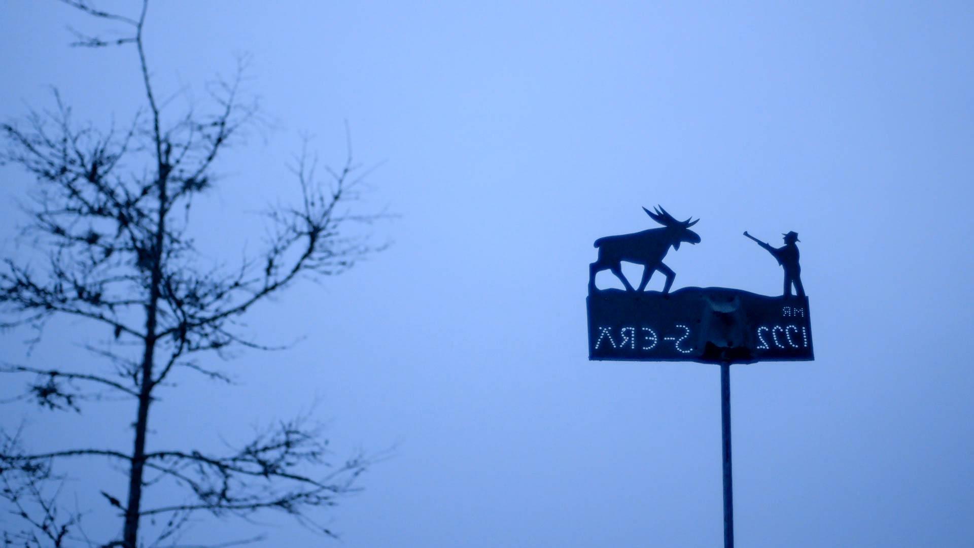 Outside the hunting cabin, Selkie village - still, Tom Miller