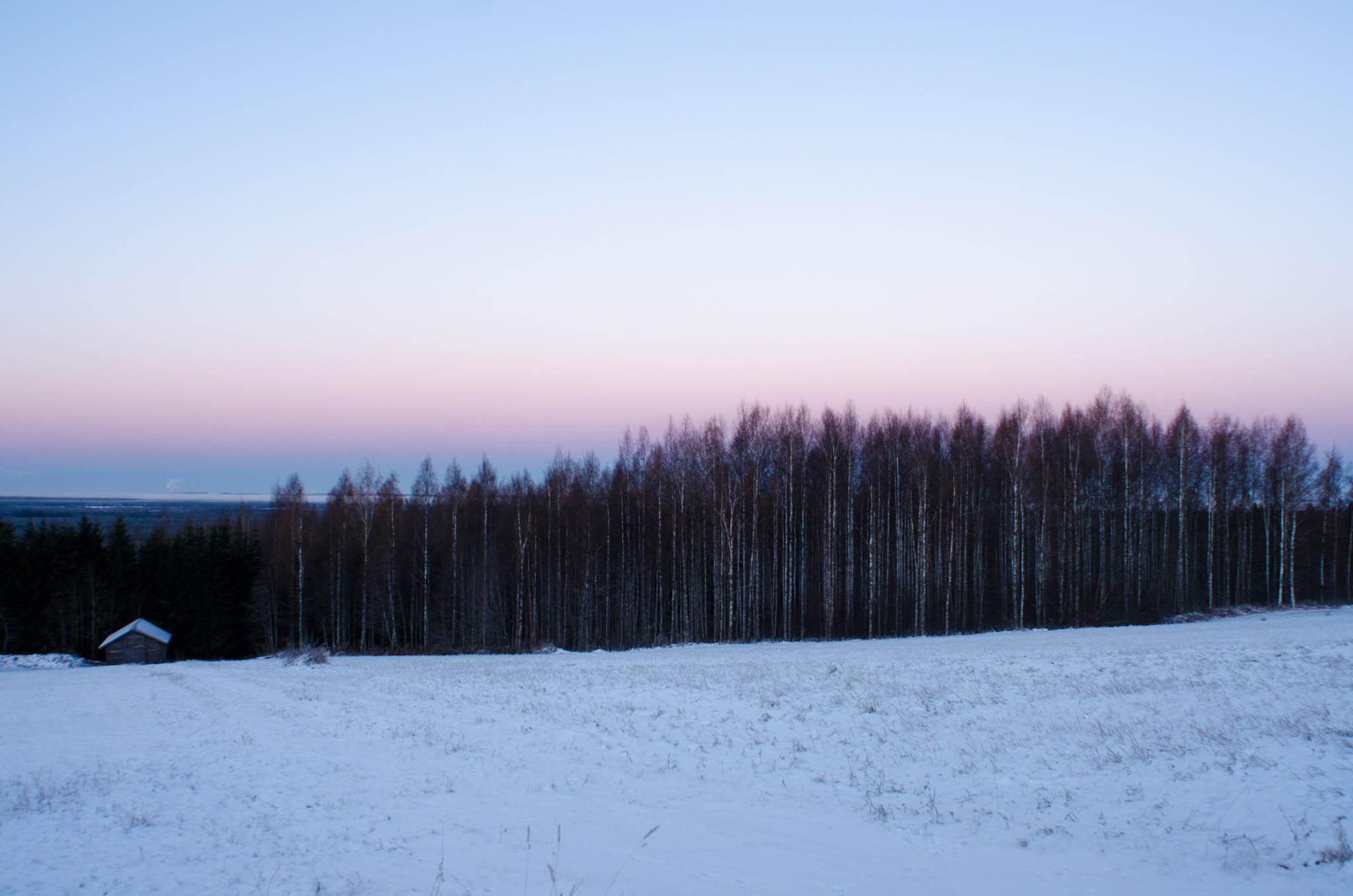 View Across to Joensuu, Selkie