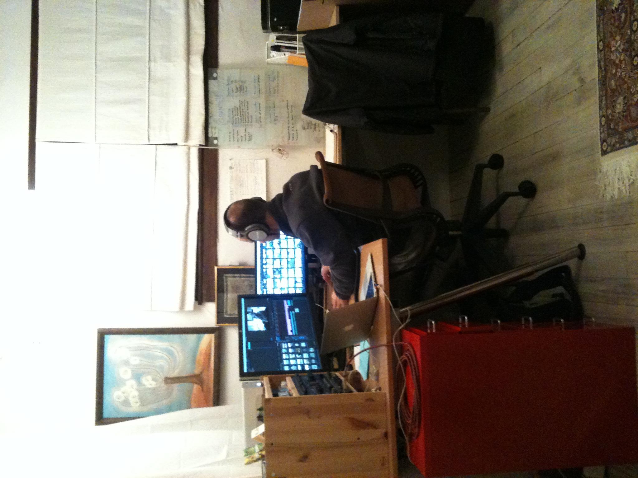 Tom MIller, Editing at home