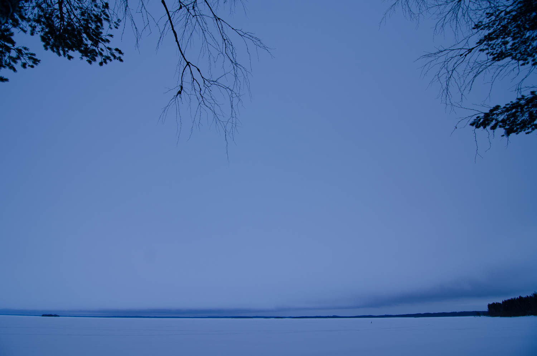 Evening on Puruvesi