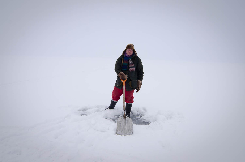 Tero on the ice