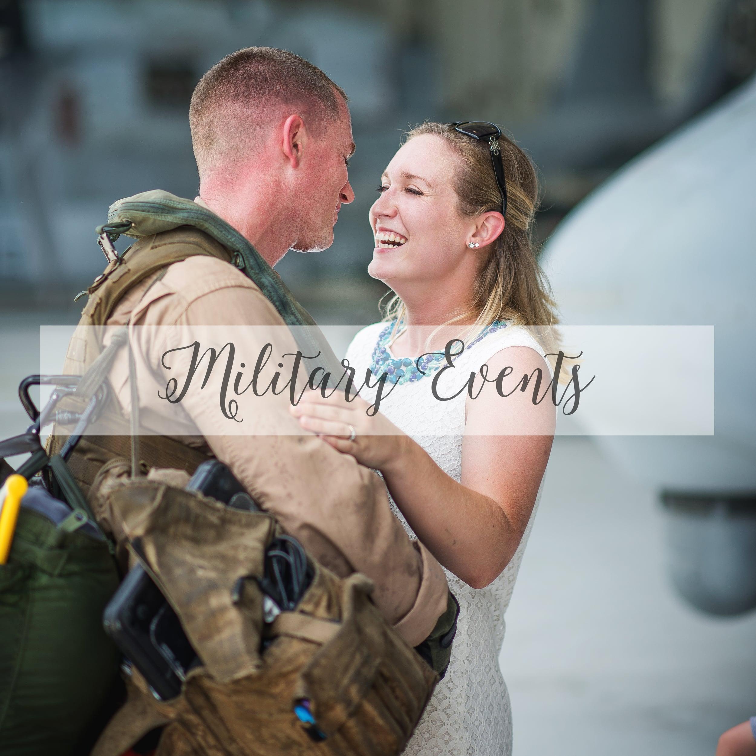 Diana Rose Photography North Carolina Military Homecomings
