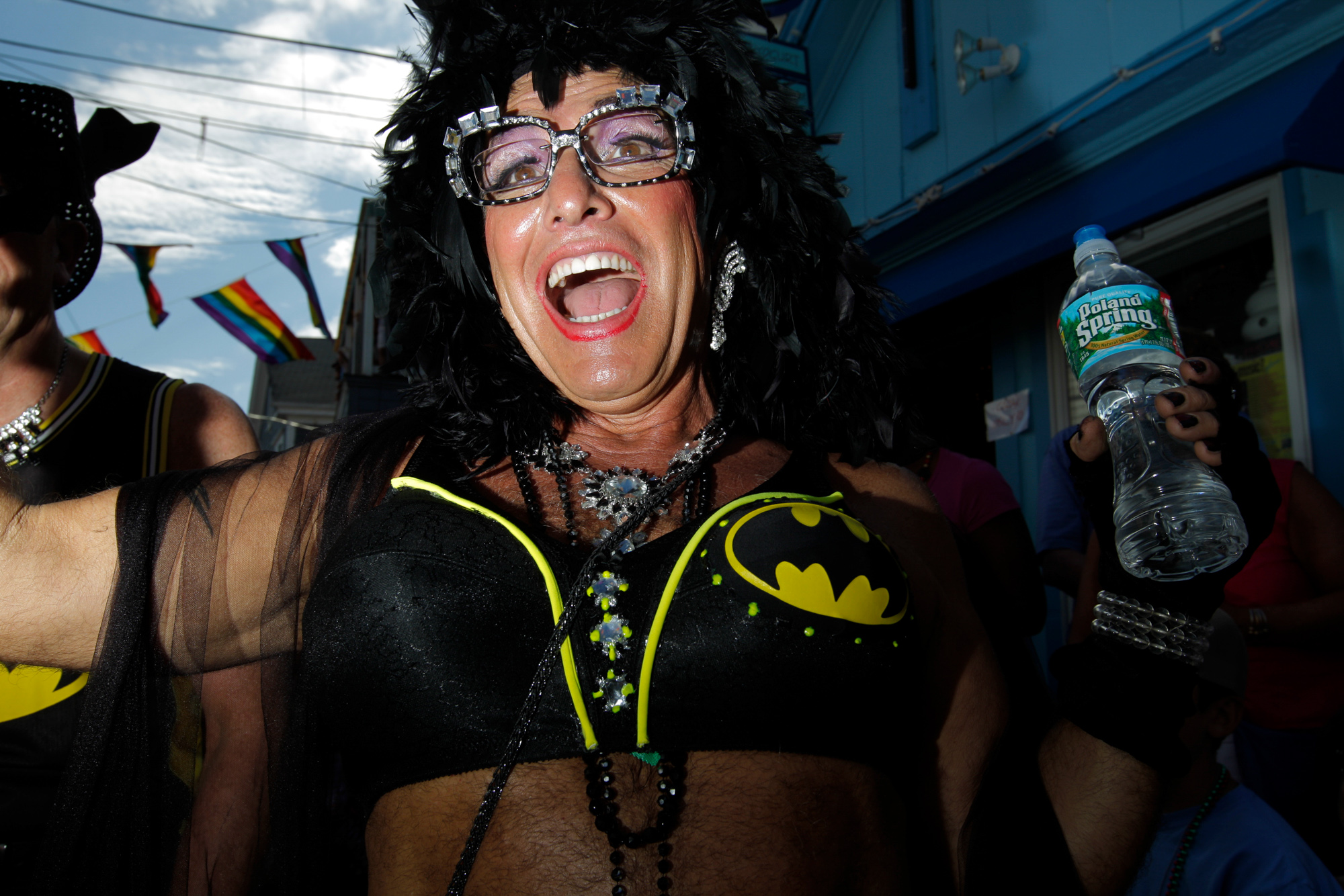 Scenes from the 2014 Provincetown Carnival in Provincetown, Massachusetts.