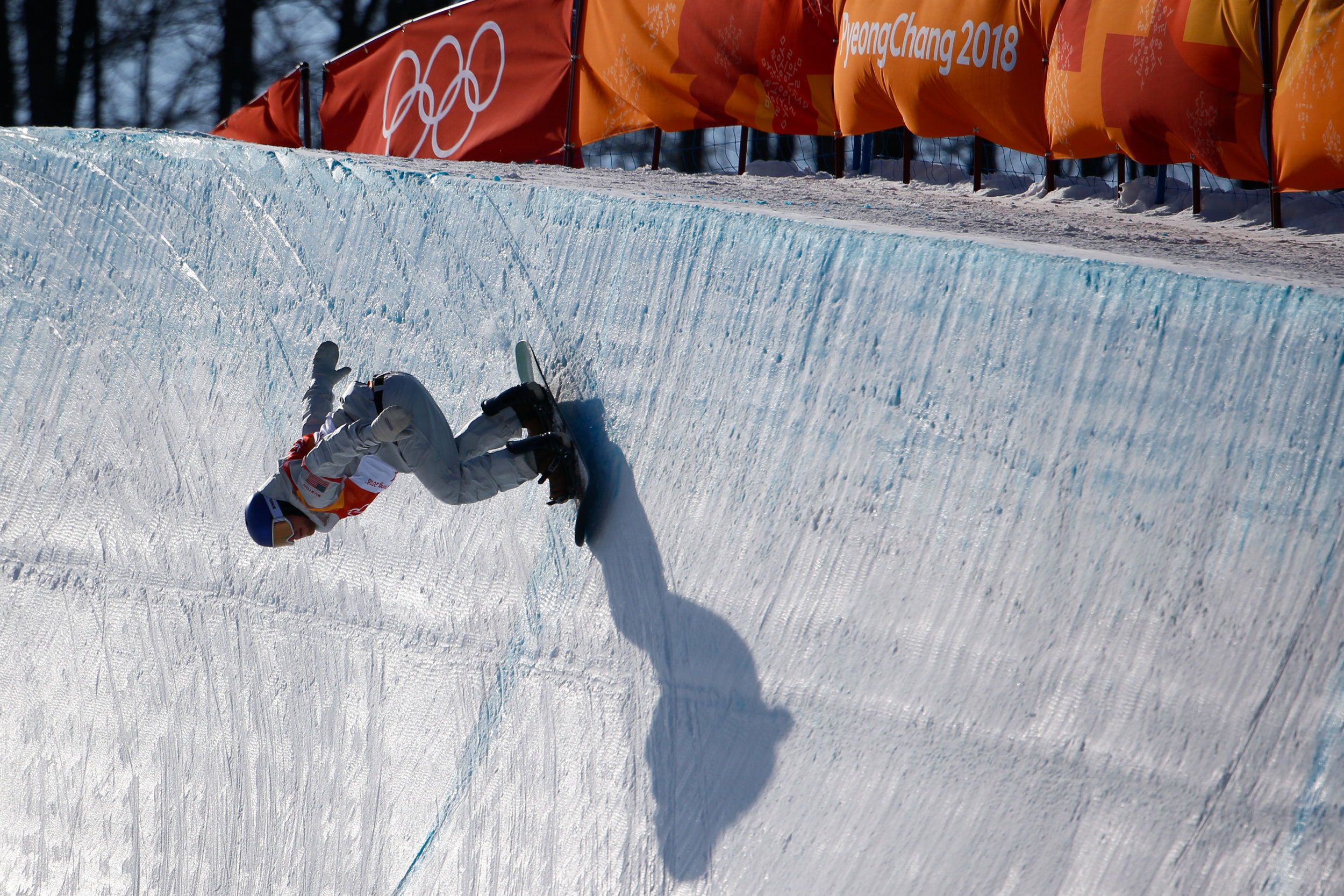 Ben Ferguson of the United States competes in the Men's Halfpipe qualification at the 2018 Pyeongchang Winter Olympics at Phoenix Snow Park in Pyeongchang, South Korea, on February 13, 2018. Photo by Matthew Healey/UPI