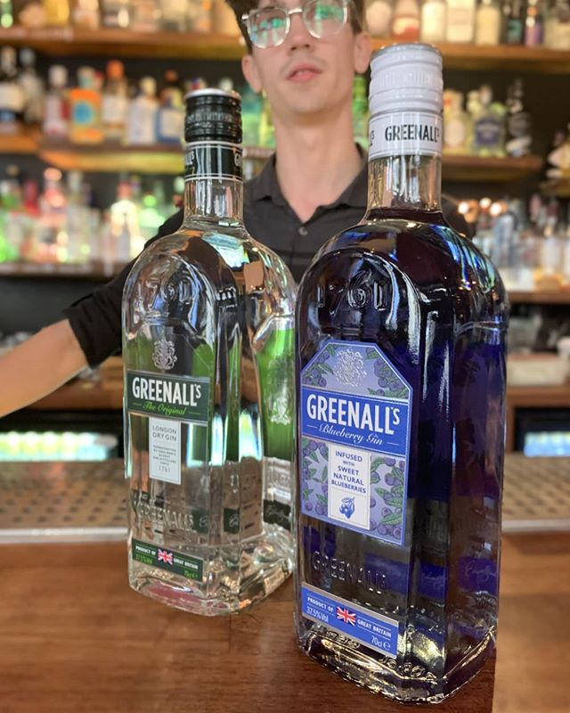 4 Days to go!  The next gin company joining us for gin day is @greenallsgin! Not long to go now!
