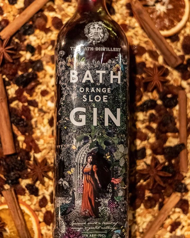 Lack of summer got you feeling blue?  Cuddle up at home and sip on our  Orange Sloe Bath Gin! . Distilled with our own special spice mix, this is perfect on the rocks or even with a bit of prosecco. Head over to our online shop using the link below: https://www.thebathgincompany.co.uk/shop/bath-gin-orange-sloe-700ml-27-vol. . Also, keep your eyes peeled this week for our tasty cocktail ideas using this product! . 📸 - @rob_hutchphotography