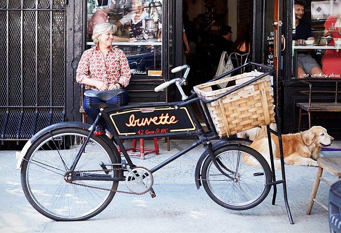 Jody Williams, owner of Buvette restaurant, NYC
