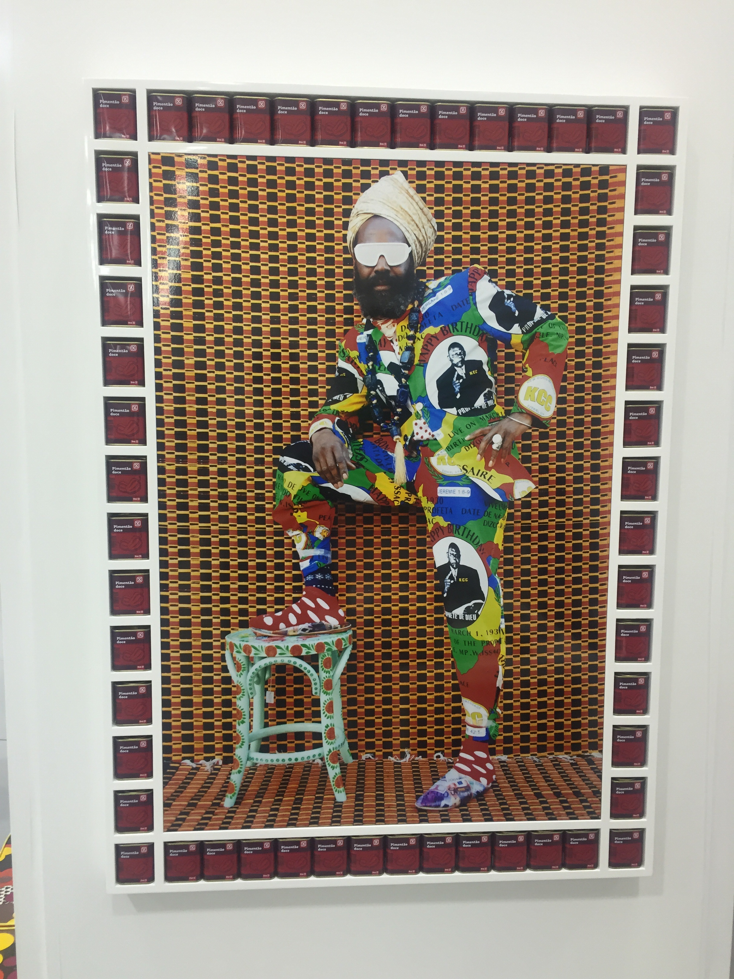 Hassan Hajjaj, I'm loving his work! Taymour Gallery, New York - Untitled