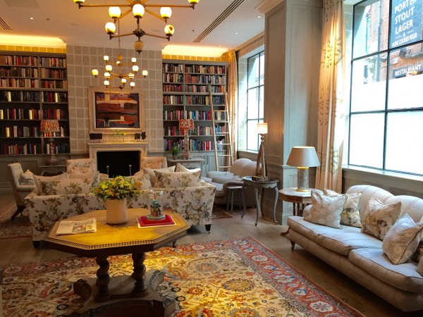 Doreen Chambers Interior Design Brooklyn - Glamorous Living Ham Yard Hotel