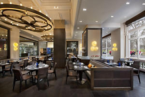 We had the good fortune of dining at the very highly regarded and difficult to get a reservation to  Dinner by Heston Blumenthal  in the Mandarin Oriental Hotel.