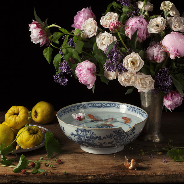 Flowers and Fish lll, After G.V.S. (2012)