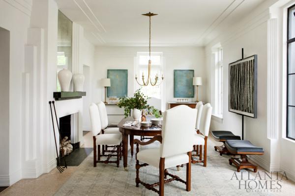 Interior Design - The All White House - Doreen Chambers Interior Design Brooklyn New York