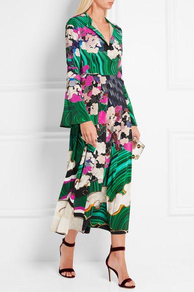 Mary Katrantzou silk dress