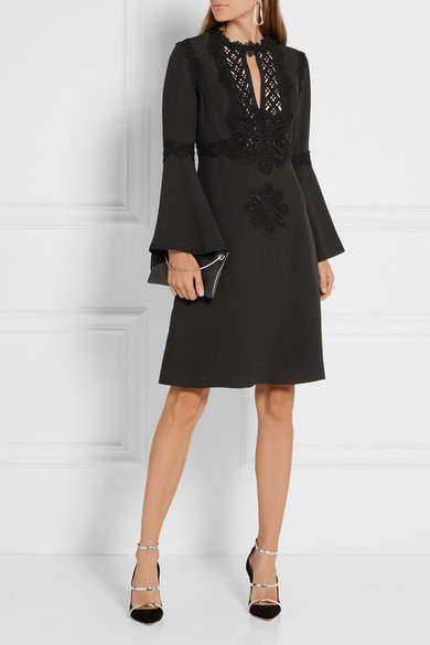 Elie Saab crepe dress