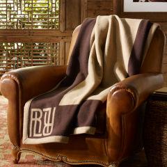Classic signature  Montclair throw blanket by Ralph Lauren