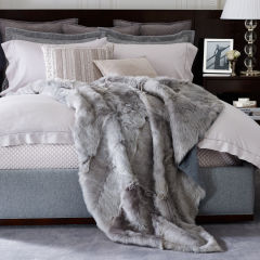 If you're feeling particularly indulgent why not splurge on this shearling throw by Ralph Lauren  - quite divine...