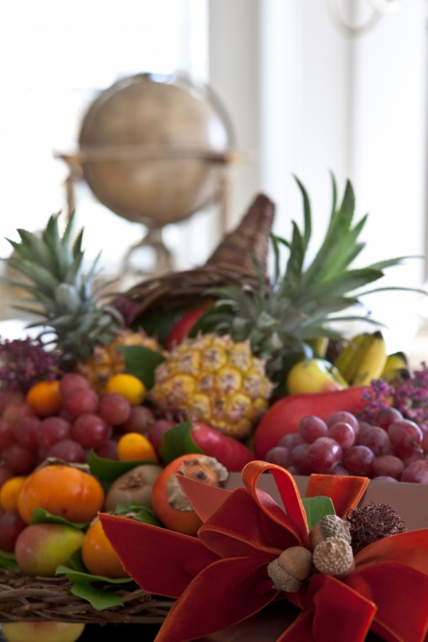 Carolyne Roehm - edible decorations