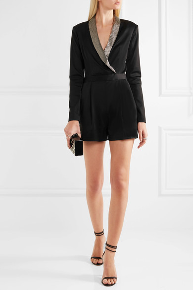 Alice & Olivia embellished playsuit - reminds me of Miami Beach
