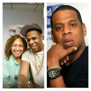 Jay-Z with Mamie