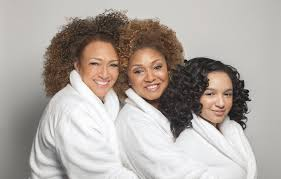 Three generations of Skin Ready women - mother, daughter and grand-daughter