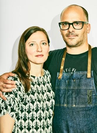 Hilary Prescott Severino & Justin Severino co-owners of Morclla -  photo by Kieran & Theo