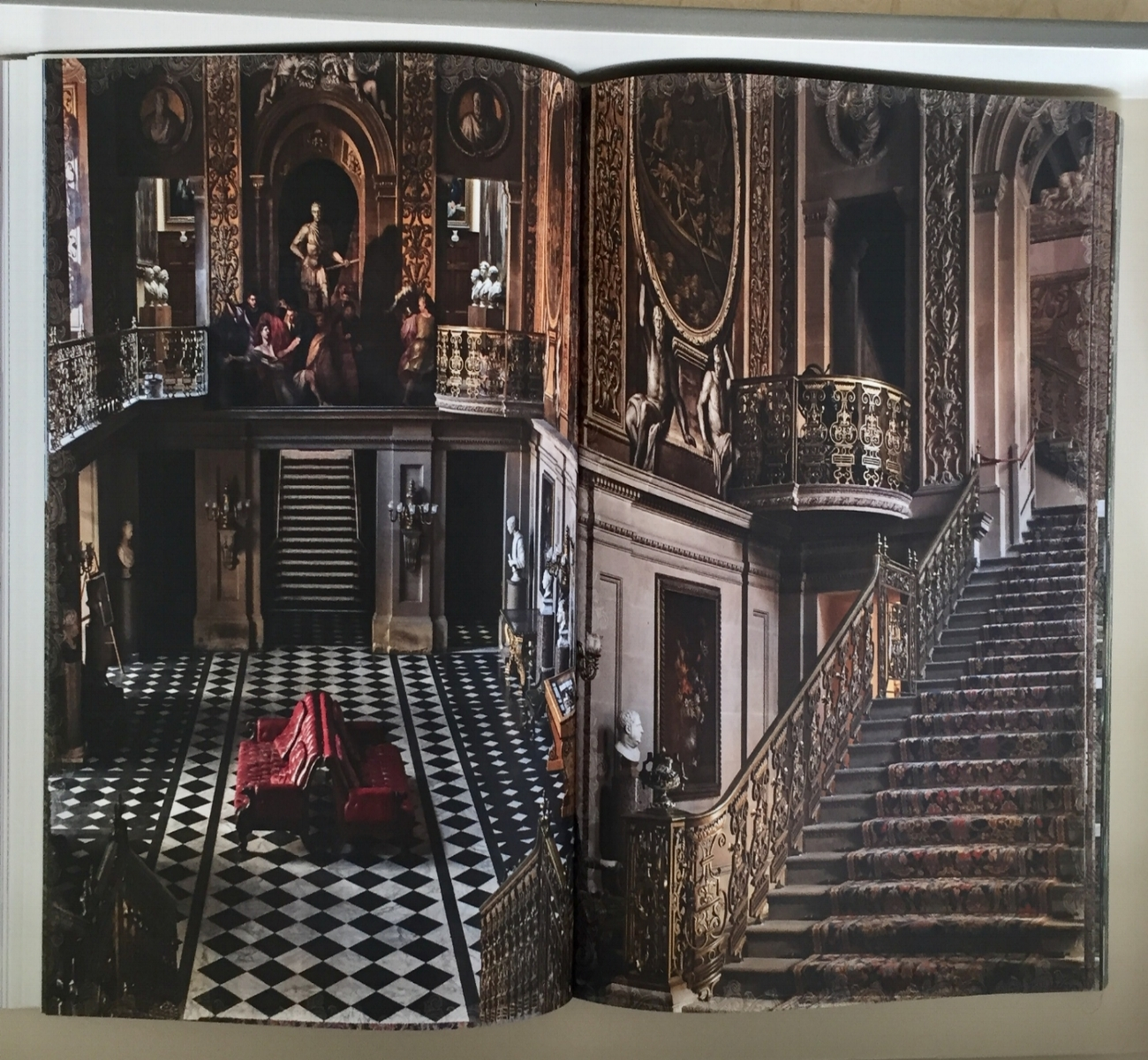 Chatsworth House - photographed in that up close and personal style where no detail is missed