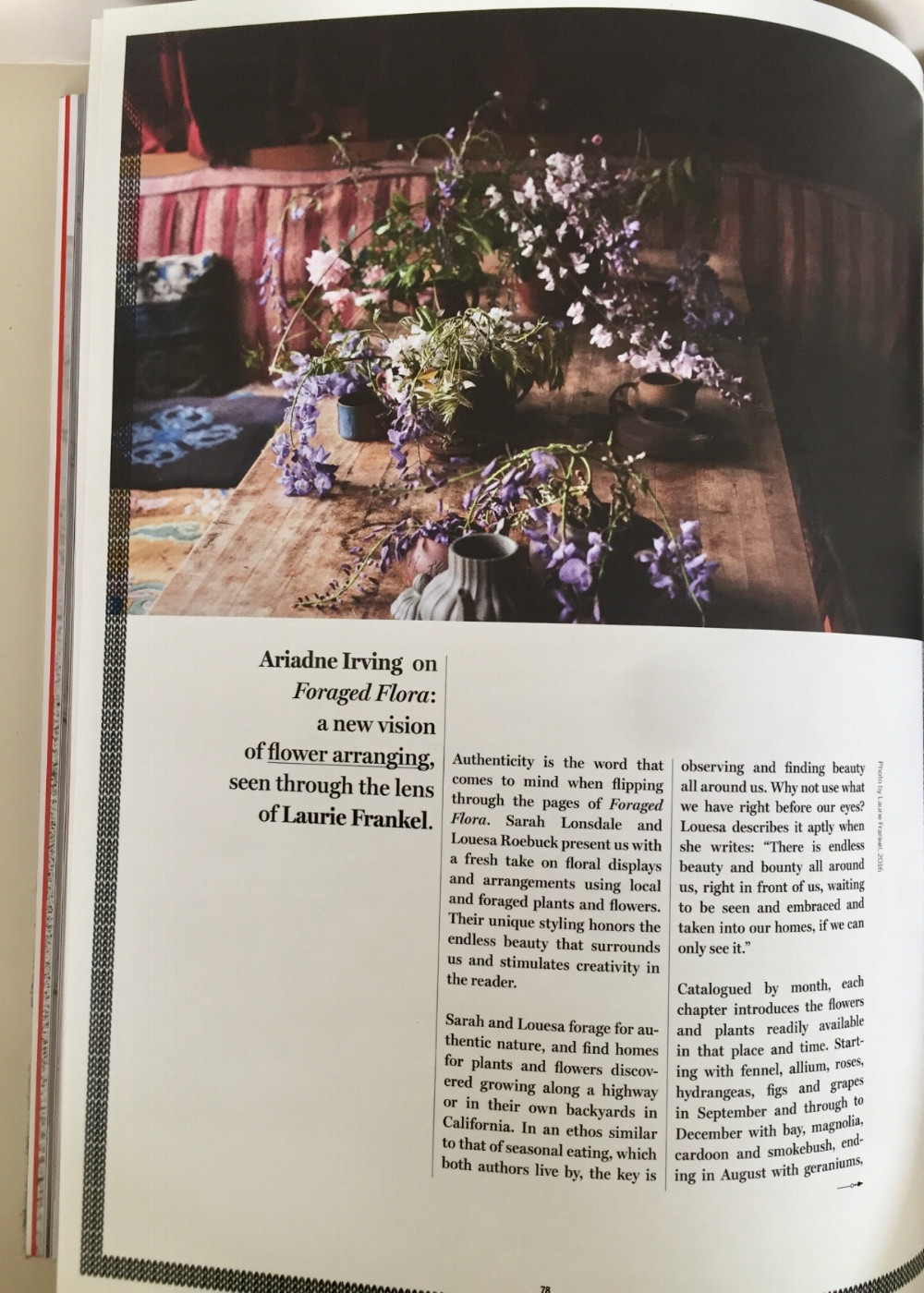 All photos and articles are from the current issue of  Cabana