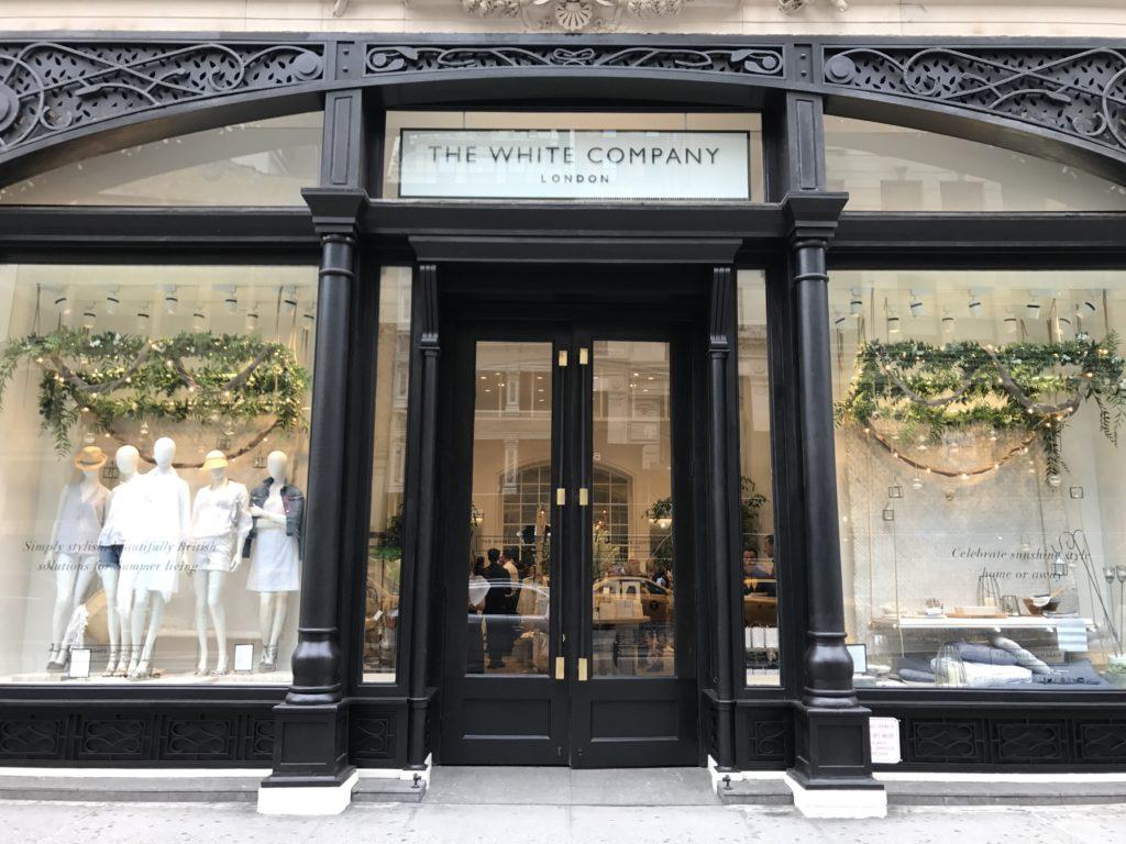 The White Company London, 155 Fifth Avenue, NYC  us.thewhitecompany.com