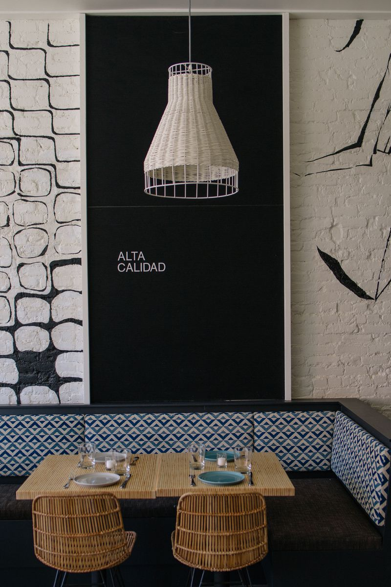 Stylish Dining - Alta Calidad Lands in Prospect Heights Brooklyn - Doreen Chambers Top Interior Designer Brooklyn, New York, South Florida