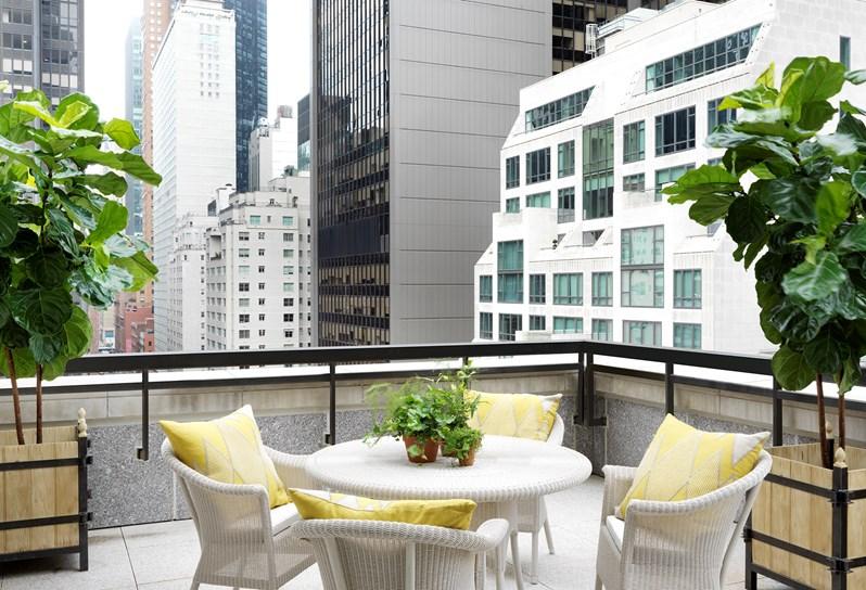 Glamorous Living - The Whitby Hotel - Manhattan - Doreen Chambers - Top Interior Designer - Brooklyn - New York - South Florida