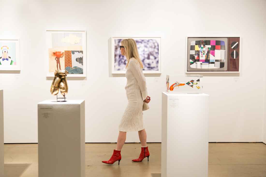 Installation view of Art & Culture Projects booth - Courtesy of Expo Chicago
