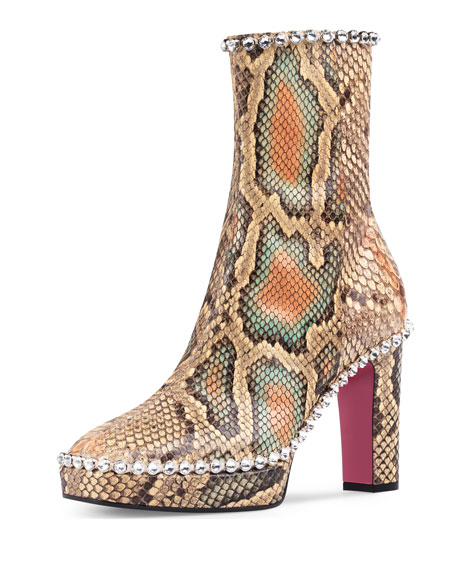 Gucci Olympia python platform  - very rock glam...