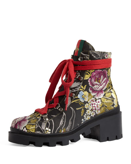 Gucci trip floral jacquard combat sadly they were out of my size :(