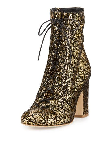 Laurence Dacade Milly embossed suede