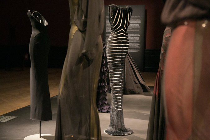 Alaïa gowns from ready-to-wear Spring 2014 Collection -  photography Valeria Mezzanotti New York Times