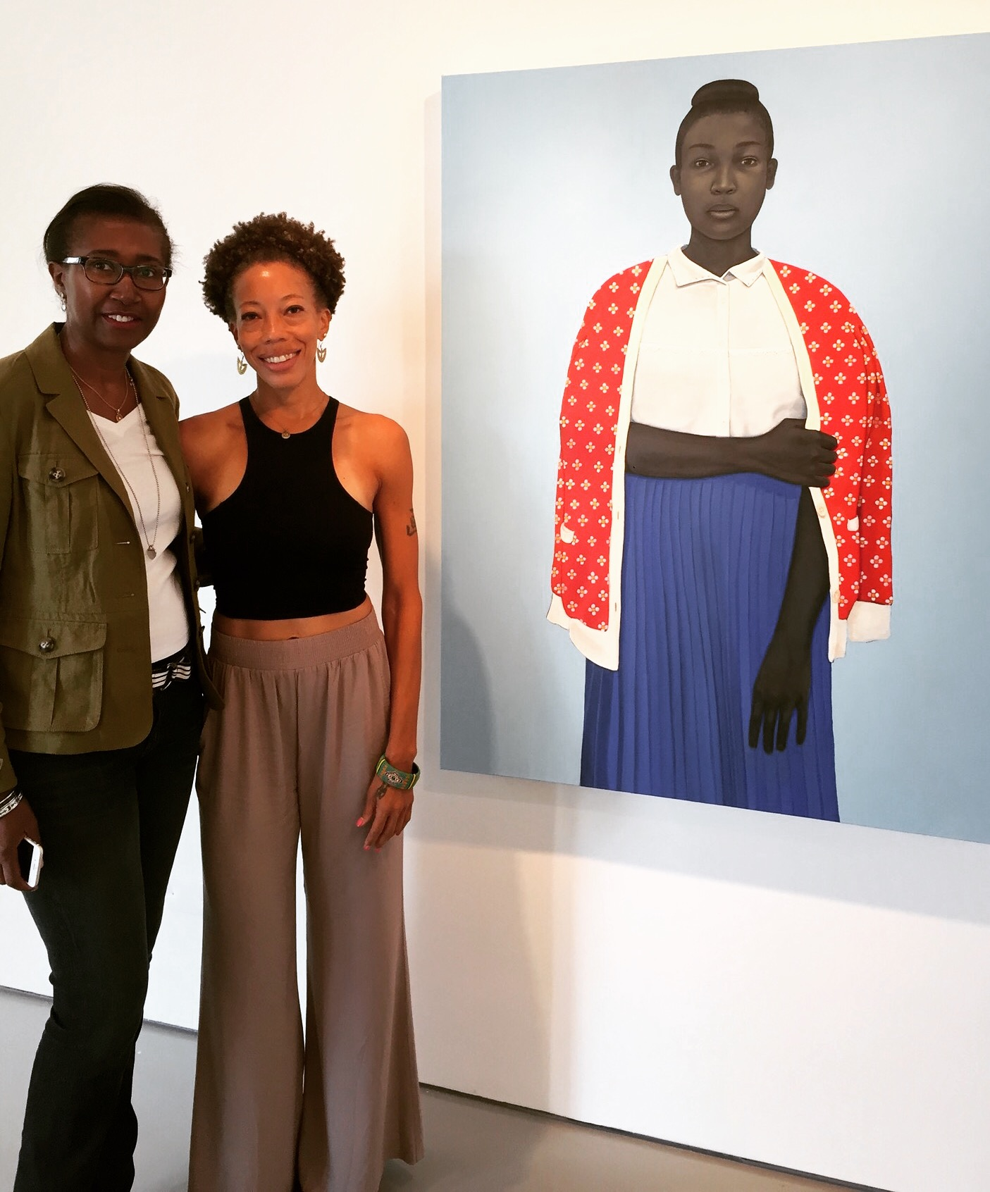 Living - With - Art - Amy Sherald's - Portrait - of - Michelle - Obama - Doreen - Chambers - Best - Interior - Designer - Brooklyn - New - York - South - Florida